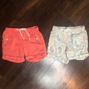 OshKosh Shorts Girls Lot Size 5 - Corral & Paisley